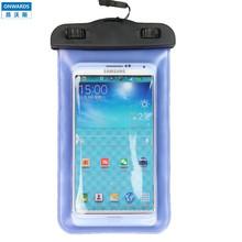 ONWARDS Swimming Waterproof Phone Bags For Samsung Galaxy Note II HTC 8x Samsung I9100(China (Mainland))