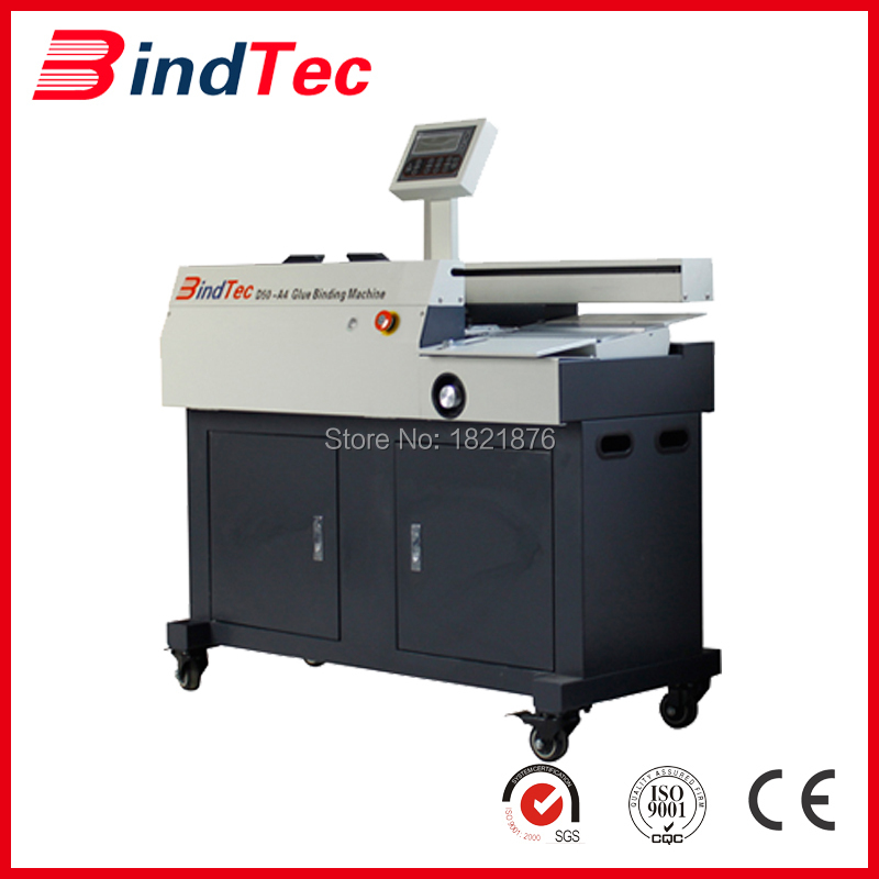 Perfect glue binding machine from Manufacturer,best price book binding machine for sale D50-A4(China (Mainland))