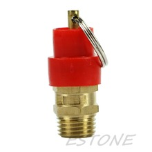 J34 Free Shipping 1PC 1/4'' 10KG BSP Air Compressor Safety Release Valve Pressure Relief Regulator(China (Mainland))
