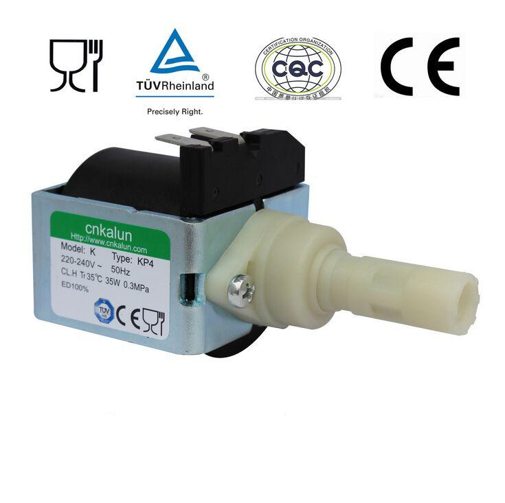 KP2 AC 220V - 240V 53W 2MPa electromagnetic Solenoid Pump for Steam iron / Coffee Machine / Steam mop machine(China (Mainland))