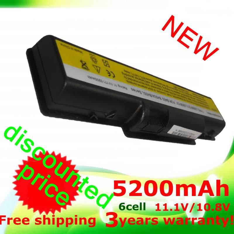 B450 5200mAh Laptop Battery for Lenovo B450 L09M6Y21 L09S6Y21 B450A B450L(China (Mainland))