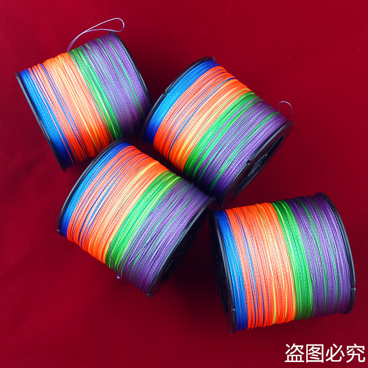 Enough 500M SUNKO Brand Super Strong Japanese colorful Multifilament PE Material Braided Fishing Line10 22 30 40 50 60 70 80LB(China (Mainland))