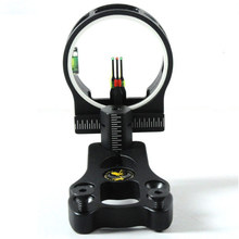 Black ARCHERY Bow sight Black 3 pins for Compound Bow Accessories free shipping
