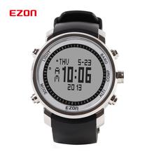 Marca de fábrica superior EZON relojes digitales hombres senderismo escalada de montaña impermeable reloj deportivo altímetro brújula barómetro / H506
