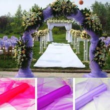 Sheer Mirror organza Fabric 1.5m Width 24 Colours
