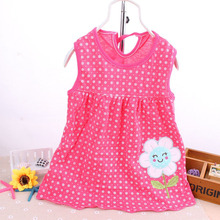 0-24M Baby Girls Baby Dresses Princess Girls Dress .0-2years Cotton Clothing Dress Summer Clothes For Girl Tops Dress Costume