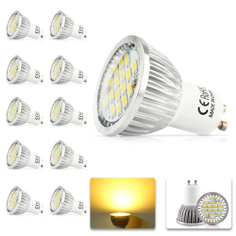 10x 100% Quality Assurance GU10 700lm 11W SMD 2835 16LED Light Bulb Warm White Cold White AC 220V LED Spot Aluminum lamp cup(China (Mainland))