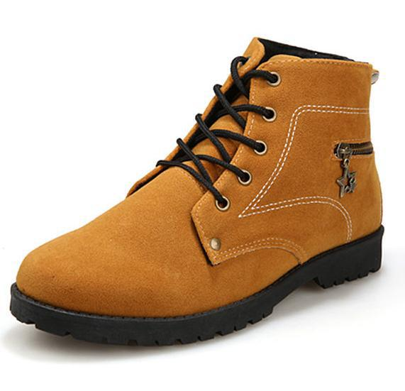 2015 casual Retro mens canvas tactical men shoes fashion Lace-up flock boots rivets flat sneakers