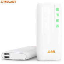Оригинал Teclast T100CY-W 10000 мАч Порты Dual USB Mobile Power с Индикатором для iphone/samsung/Sony/HTC/iPad(China (Mainland))
