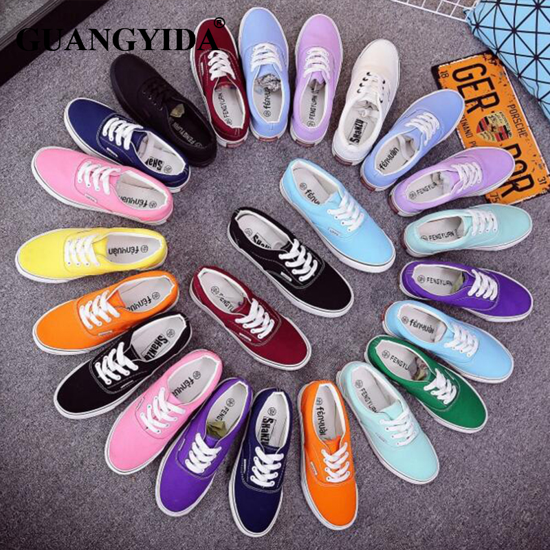 VFYS brand New Women Canvas Shoes brand shoes Breathable shoes woman skateboarding Women sneakers Drop Shipping ST40(China (Mainland))