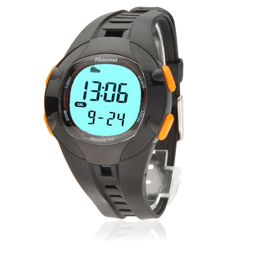 30M Waterproof 3D Pedometer Multifunction Digital Watch Backlight Step Calorie Distance Counter Walking Running Sports Watch(China (Mainland))