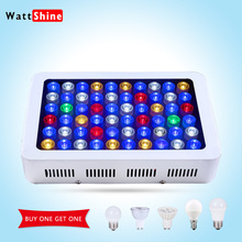 Fish tank 180w Dimmable Led Aquarium lights Free shipping for marine aquarium professional Full spectrum Decoration hot sale(China (Mainland))