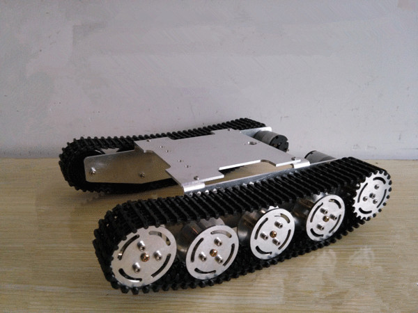 Tank Car Chassis Crawler Intelligent DIY Robot Electronic Toy ,development kit Tractor toy, Free shi - Oak Studio store