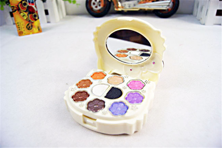 Gifts cartoon cat colorful dressing wholesale single wet eye shadow makeup.maquiagem Free shipping(China (Mainland))