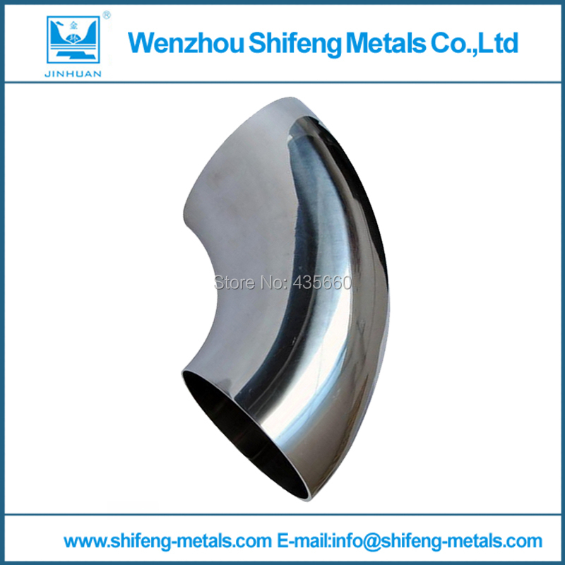 OD 32mm 1 1/4'' Sanitary Weld Elbow Pipe Fitting 90 Degree Stainless Steel 304(China (Mainland))