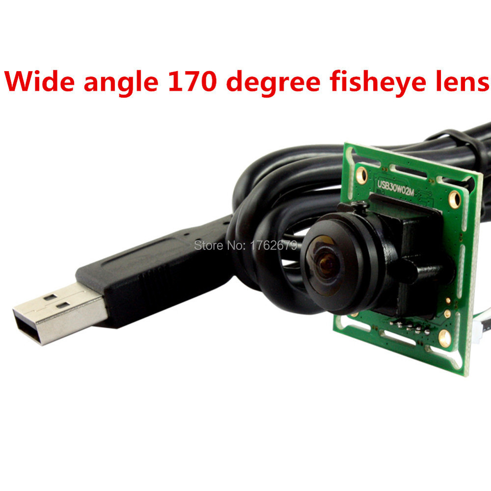 2015 New Product Wide Angle 170 Degree Fisheye Lens Mjpeg ,YUY High Resolution OV7225 Micro Cmos Linux usb Board Camera Module(China (Mainland))
