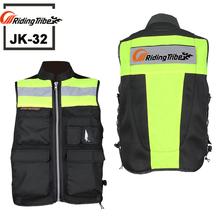 2016 JK32 Motorcycle Reflective Safety Clothing motorbike bike racing high visible reflective warning cloth  free shipping(China (Mainland))
