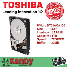 Toshiba DT01ACA100 1TB hdd 3.5 SATA 3 desktop disco duro internal sabit hard disk drive interno hd harddisk disque dur interne(China (Mainland))