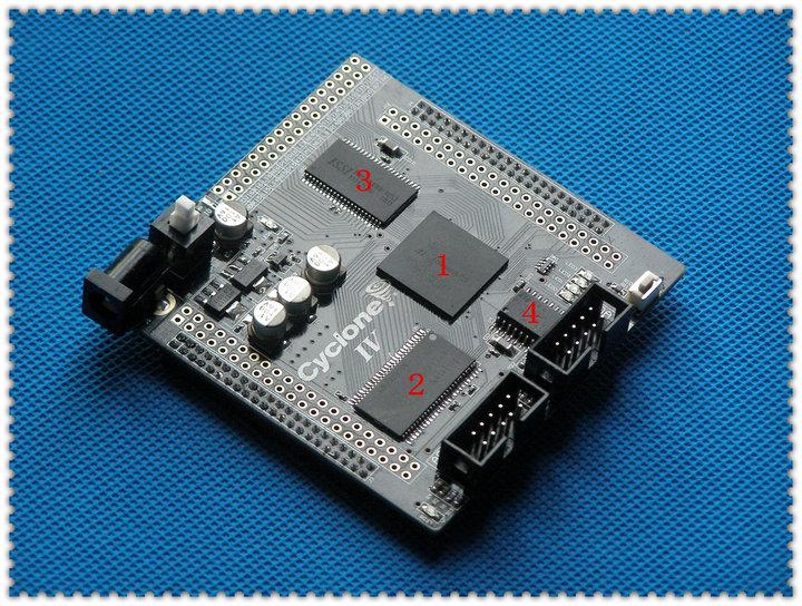 Free shipping FPGA development board ALTERA CYCLONE IV Core board EP4CE15(China (Mainland))