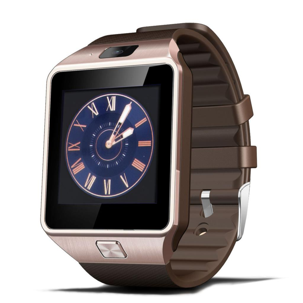 Bluetooth Smartwatch DZ09 Clock Smart Watch Phone for Android Smartphone with Facebook Whatsapp Camera Passometer Support