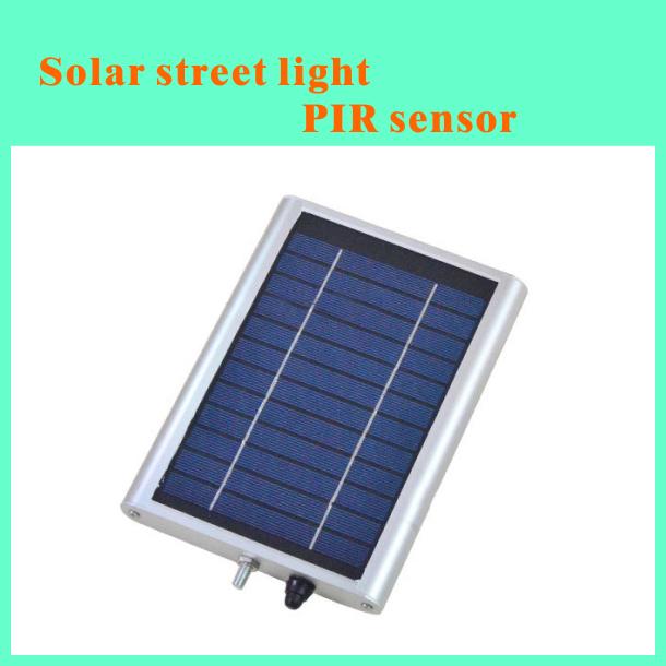 Street Light With Solar Panel: 30 LED Solar Powered Panel LED Street Light Solar Sensor