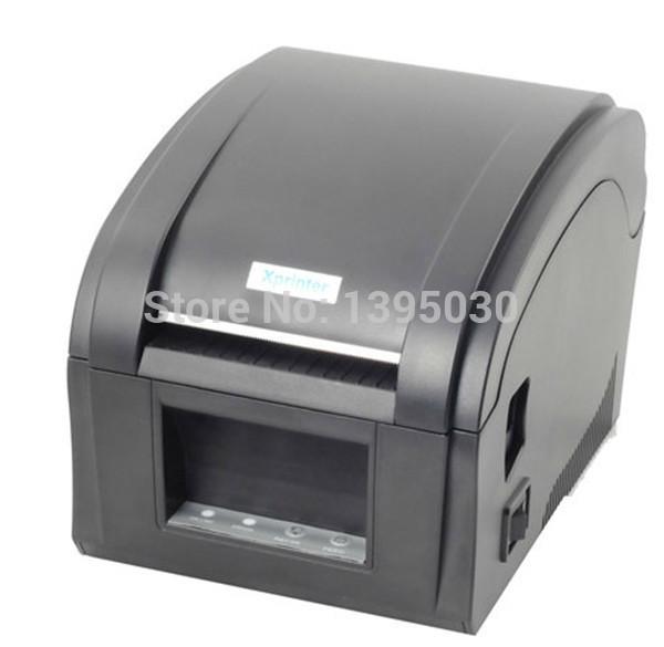 8PCS/Lot XP-360B Thermal Barcode Printer USB Communication Interface Label Maker with English Instructions(China (Mainland))