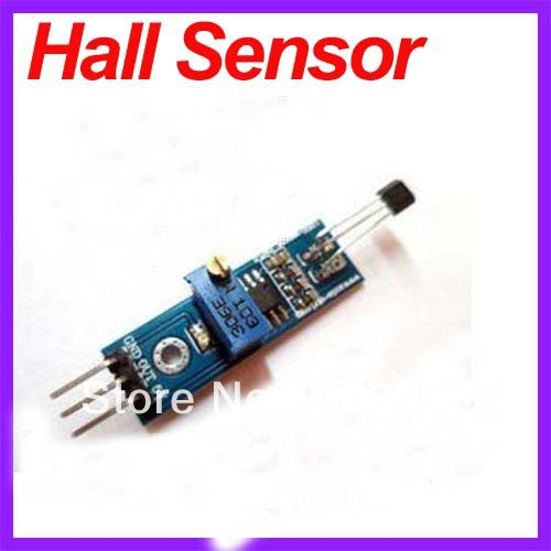 Гаджет  5pcs/Lot DC 5V 3144 Hall Sensors Magnetic Swiches Speed Counting Sensor Module For Arduino Smart Car Free Shipping Dropshipping None Электронные компоненты и материалы