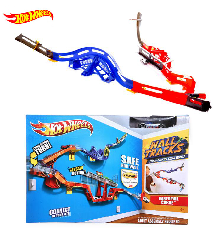 Authorized sales Hot Wheels model V1049 track toy kids toys Plastic metal miniatures cars track classic boy toy car(China (Mainland))