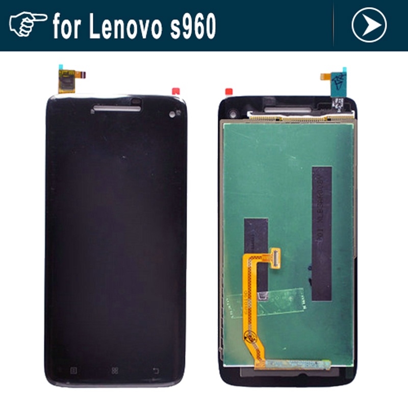 ЖК-дисплей+ Сенсорный экран digitizer стеклянная панель для Lenovo s960 с Вибе х