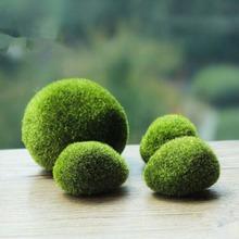 Mousse artificielle pierres herbe usine de Bryophytes Pot bonsaï accueil jardin décoration 1 pcs/lote gros(China (Mainland))