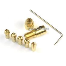 1 Unidades Micro pequeño pasador de vicio DRILL CHUCK SET 5 pinzas holder 0.5 – 3.0 mm reparadores formar de la herramienta del relojero