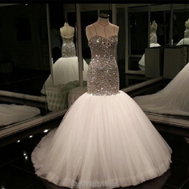 Online Get Cheap Wedding Dress Mermaid Bling Bling -Aliexpress.com ...