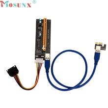 Buy Top PCI-E Express Powered Riser Card W/ USB 3.0 extender Cable 1x 16x Monero JUL 4 Levert Dropship for $5.34 in AliExpress store