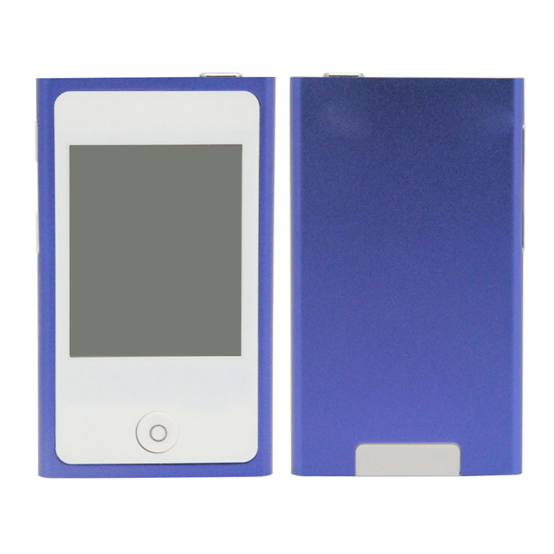 2inch Touch Screen 7th Gen MP4 Player 16GB 6 Colors For Choose FM Radio Music Player(China (Mainland))