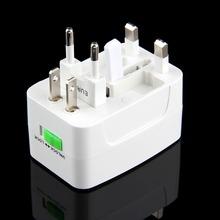 Universal Adapter Plug Socket Comverter Universal All in 1 Travel Electrical Power Adapter Plug US UK AU EU Free Shipping