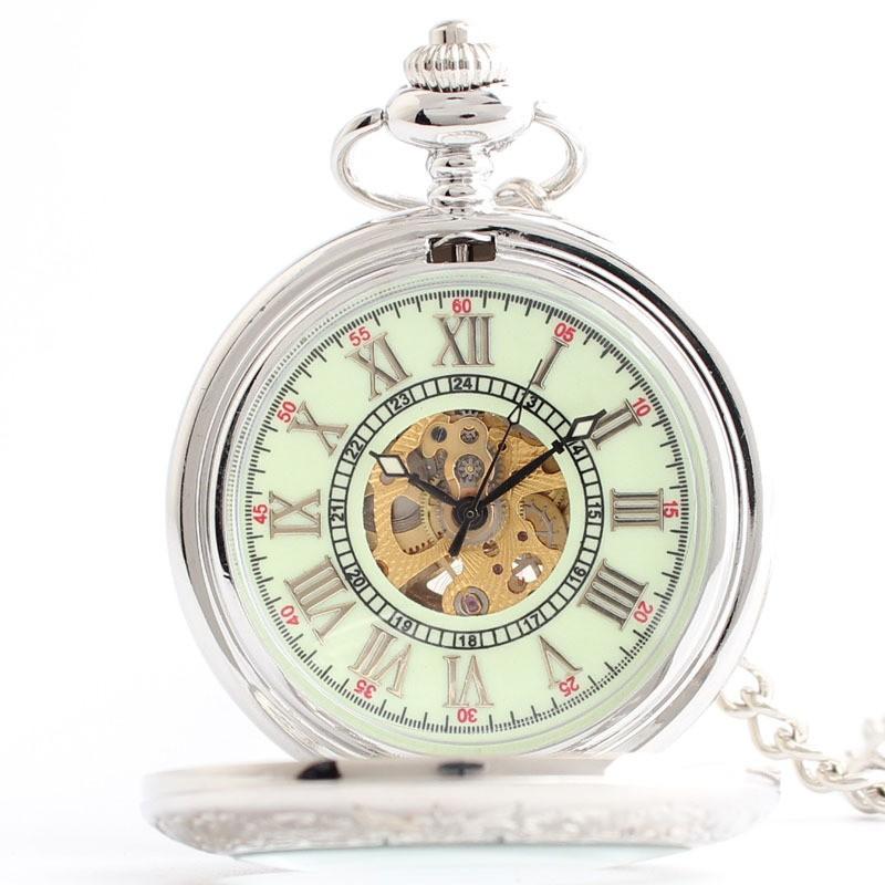 Класс механические часы классические мужские карманные часы подарок Г-Жа автоматические механические часы карманные часы