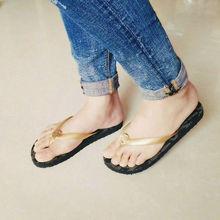 2016 Fashion Summer Women Flip flops Casual Beach Sandals Flat Slippers(China (Mainland))
