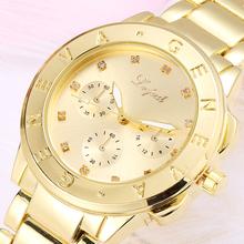 2016 Hot Sale Lvpai Gold Silver Women Dress Watch Luxury Stainless Steel Sport Quartz Jewelry Electronic