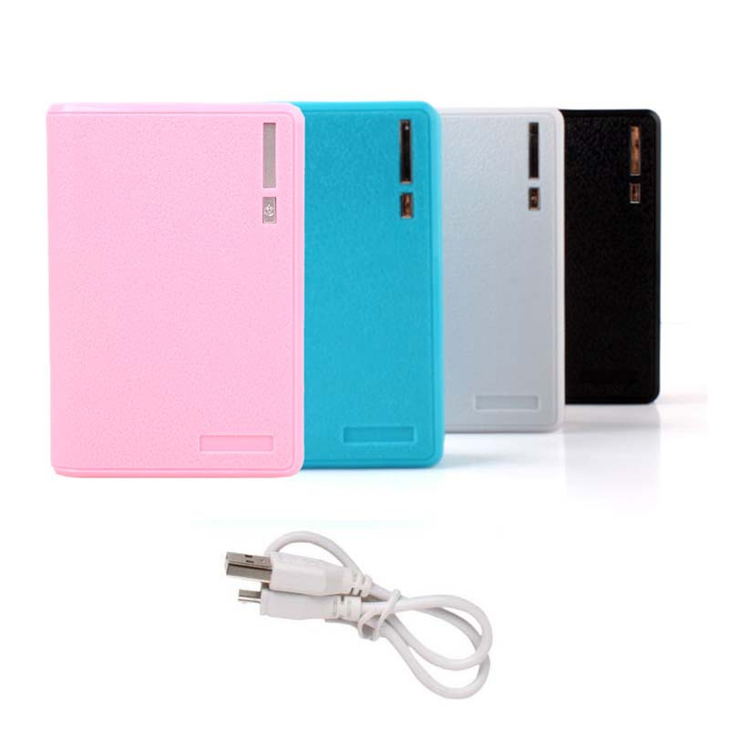 4x 18650 Battery Mobile Charger Smart Power Bank Dual USB Cellphone #52311 - BeFocus store