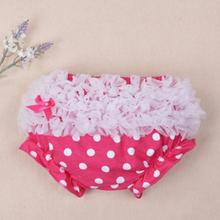 2016 Newborn Baby Girls cotton Ruffle PP Shorts Bowknot Bloomers Infant Girl Diaper Cover Clothing Bermuda Moleton Masculina(China (Mainland))