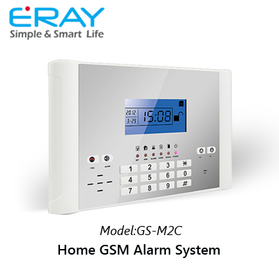2015 Brand New Hot Sales ERAY Wireless GSM Alarm System China for Home Used for House/Storage/Shop, Free Shipping(China (Mainland))