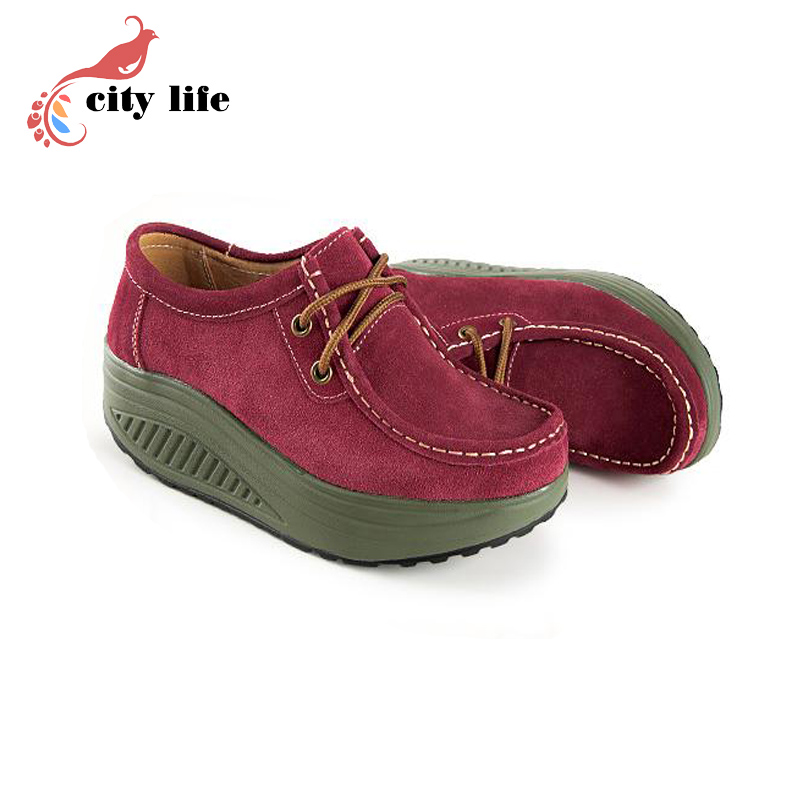 2015 genuine leather swing shoes inside and outside