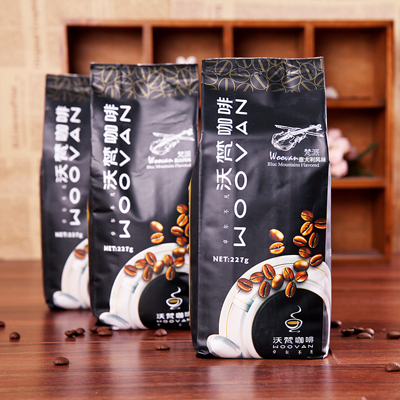 coffee beans Italian imported coffee beans freshly roasted beans can be ground coffee 227g