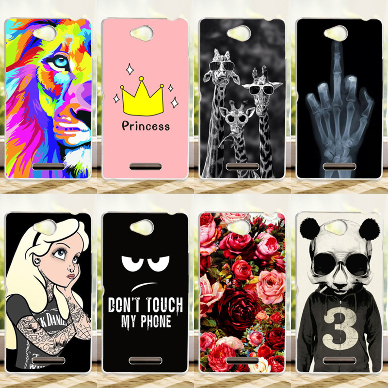 Colorful Back Cover For Sony Xperia C CN3 C2304 C2305 S39 S39H Painting Protective Case FOR Sony C 2304 2305 Phone Case Cover(China (Mainland))