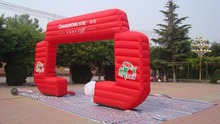 Buy New Style Square Ad Inflatable Arch Event Air blower for $580.00 in AliExpress store