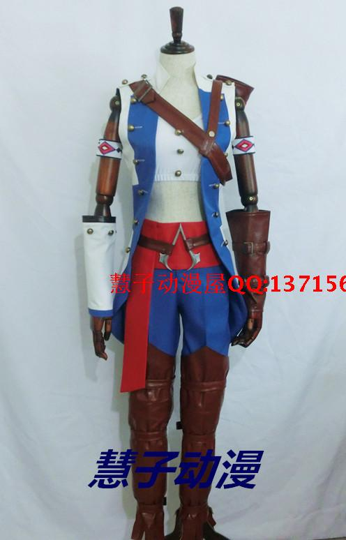 Assassins Creed Conner Kenway Cosplay Assassin Creed Female Woman Assassin's Creed Costume