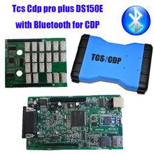 2014.2  Version TCS CDP Pro  3 in1 and tcs cdp pro plus DS150E with bluetooth for OBD CDP cars and trucks(China (Mainland))