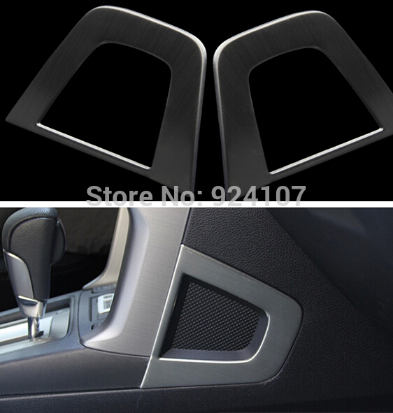 Фотография stainless steel center control Horn ring decoration for SUBARU forester 20132014 2015