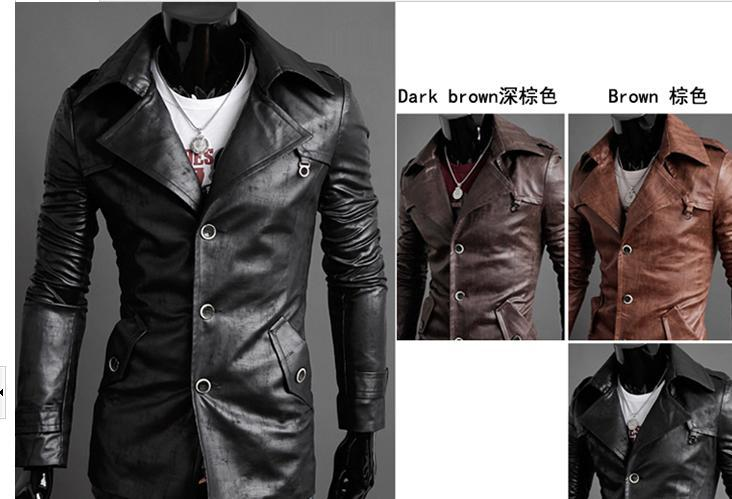 Skinny Leather Jackets - Jacket