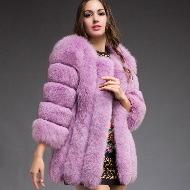 Ladies Real Fur Coats - Coat Nj